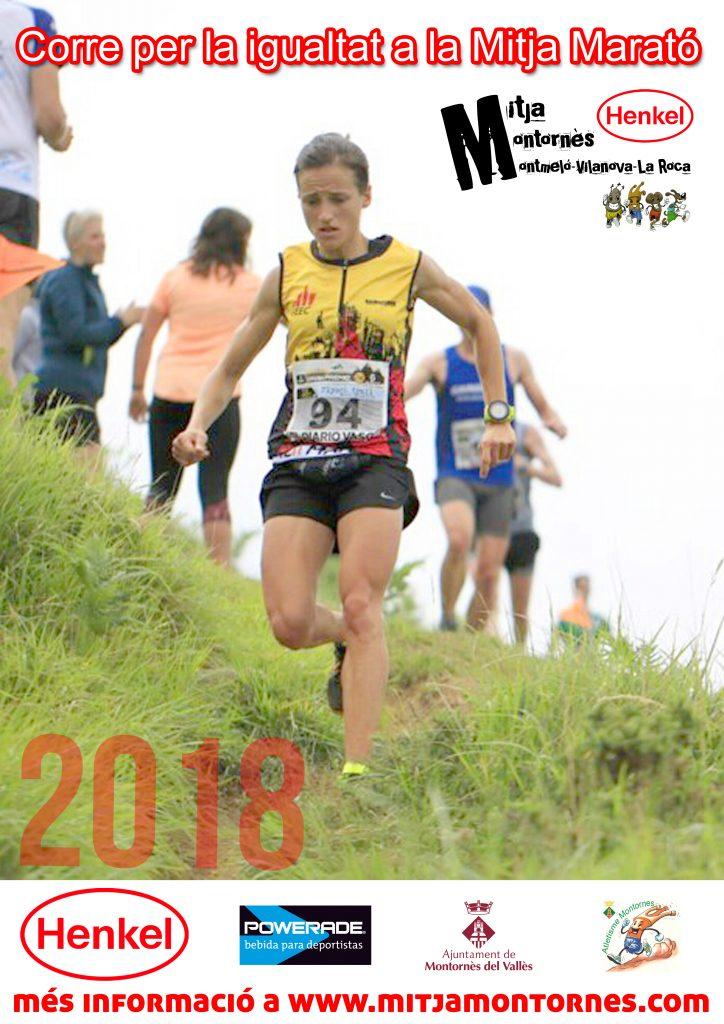 Corre per la igualtat a la Mitja Marató