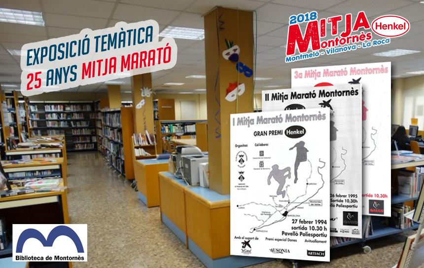 25 anys de Mitja, 50 anys de Biblioteca a Montornès del Vallès.