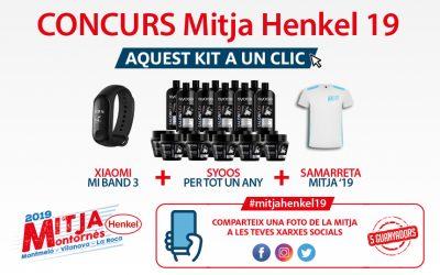 Concurs Mitja Henkel '19 (campanya activa del 24 al 26 de març)