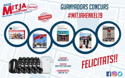 Guanyadors Concurs Mitja Henkel '19.