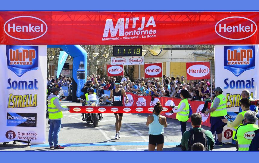 RadouaneNour i Silvia Segura guanyen la 26ª Mitja Montornès, amb més participació i més compromís social.