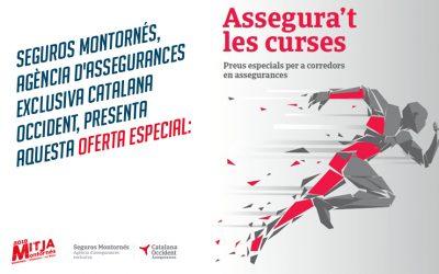 Assegura't les curses amb Catalana Occident.