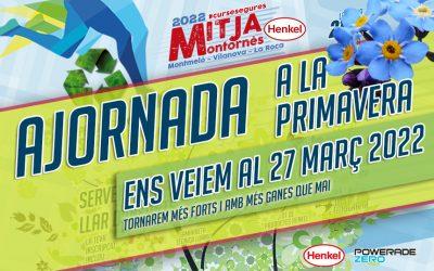 La Mitja Montornès torna a la seva data habitual: març 2022.